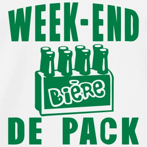 week end pack biere alcool humour Vêtements de sport - T-shirt Premium Homme