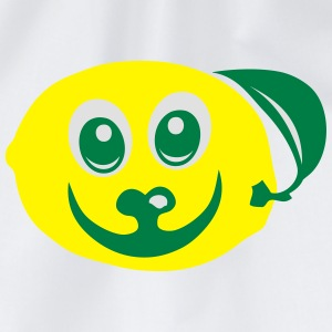 Lemon fruit smile 611 Hoodies & Sweatshirts - Drawstring Bag