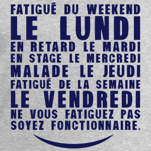 fatigue lundi retard stage malade Tee shirts - Sweat-shirt Homme Stanley & Stella