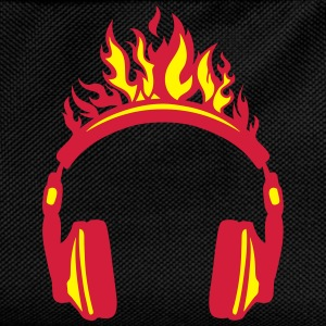 casque audio flamme flame 2004 Sweat-shirts - Sac à dos Enfant