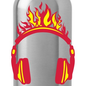 casque audio flamme flame 2004 Tee shirts - Gourde