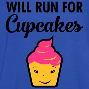 Will Run For Cupcakes T-shirts - Vrouwen tank top van Bella