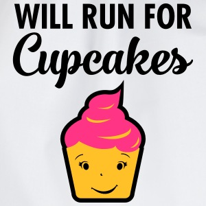 Will Run For Cupcakes T-skjorter - Gymbag