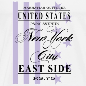 New York City - East Side Langarmshirts - Männer Premium T-Shirt