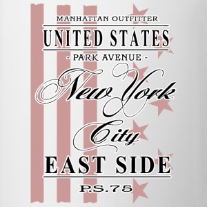 New York City - East Side Tops - Tasse
