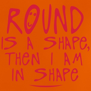 round is a shape then quote Shirts - Baby T-Shirt