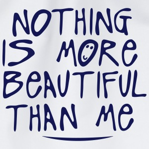 nothing is more beautiful quote T-Shirts - Drawstring Bag