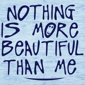 nothing is more beautiful quote T-Shirts - Women's Tank Top by Bella