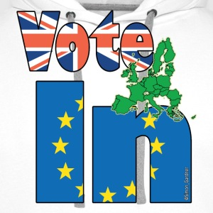 Stronger In EU Referendum T-Shirts - Men's Premium Hoodie