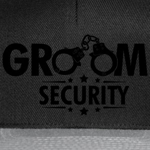 Groom Security T-Shirts - Snapback Cap