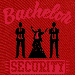 Bachelor Security Tee shirts - Casquette snapback