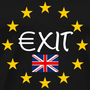 Brexit Exit Bags & Backpacks - Men's Premium T-Shirt