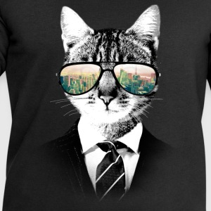 NYC Cat Tee shirts - Sweat-shirt Homme Stanley & Stella