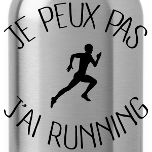 Je peux pas j'ai running Sweat-shirts - Gourde