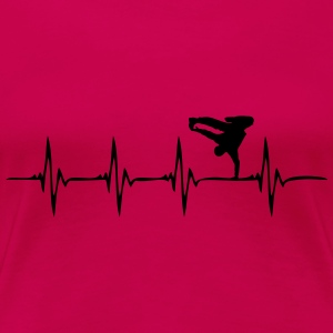 Heartbeat - HipHop - Frauen Premium T-Shirt