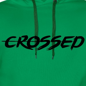 Crossed - Sweat-shirt à capuche Premium pour hommes