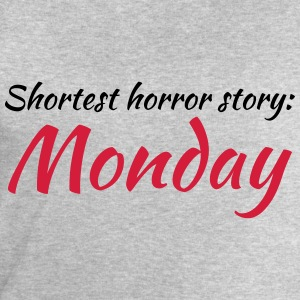 Shortest horror story: Monday Tee shirts - Sweat-shirt Homme Stanley & Stella