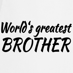 World's greatest brother T-Shirts - Cooking Apron