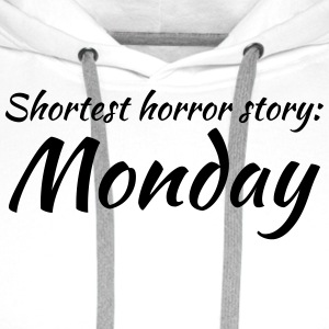 Shortest horror story: Monday Kopper & tilbehør - Premium hettegenser for menn