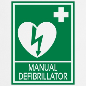 Manual Defibrillator Tee shirts - Tablier de cuisine