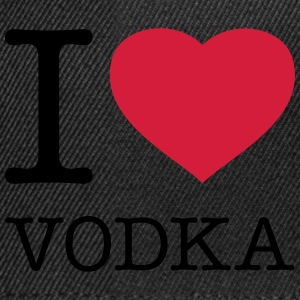 I LOVE VODKA  Tabliers - Casquette snapback