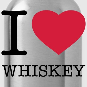 I LOVE WHISKEY - Trinkflasche
