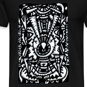 Eye-eye by Brian Benson. Men's Sweatshirt - Men's Premium T-Shirt