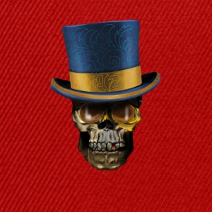 Skull with Top Hat T-shirts - Snapbackkeps