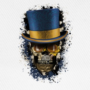 Skull with Top Hat T-shirts - Basebollkeps