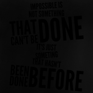 impossible Camisetas - Camiseta bebé