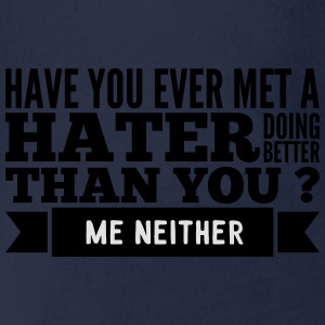 hater doing better than you ? Shirts - Baby bio-rompertje met korte mouwen