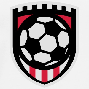 Minimal football logo / coat of arms / flag / badge Kopper & tilbehør - Premium T-skjorte for menn