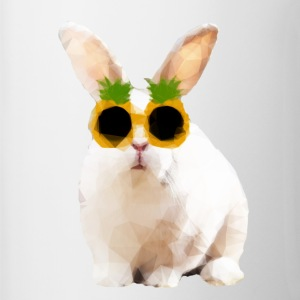 Rabbit wearing pineapple sunglasses - Tofarget kopp