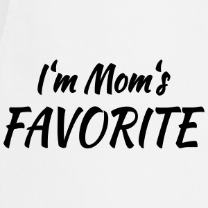 I'm mom's favorite T-Shirts - Kochschürze