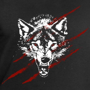 Angry wolf T-Shirts - Men's Sweatshirt by Stanley & Stella