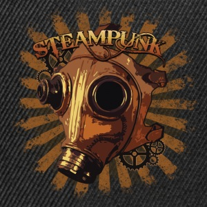 Steampunk mask Tops - Snapback Cap
