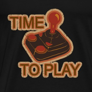 TIME TO PLAY Tops - Men's Premium T-Shirt