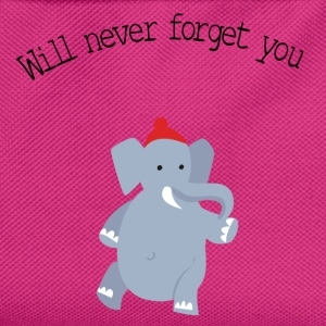 cute-elephant-red-beanie- Pullover & Hoodies - Kinder Rucksack