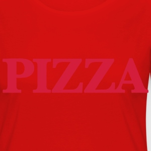PIZZA T-Shirts - Women's Premium Longsleeve Shirt