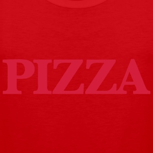 PIZZA T-Shirts - Men's Premium Tank Top