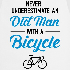Old Man - Bicycle T-Shirts - Cooking Apron