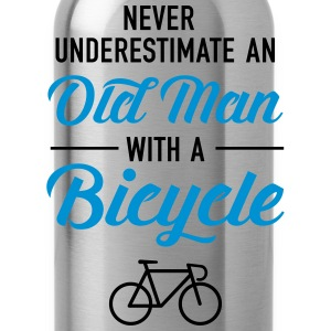 Old Man - Bicycle T-Shirts - Water Bottle