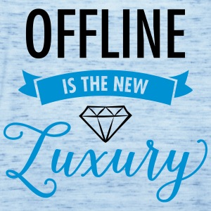 Offline Is The New Luxury T-Shirts - Women's Tank Top by Bella