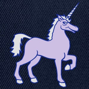 unicorn unicorn gay cool riding horse stallion equ T-Shirts - Snapback Cap