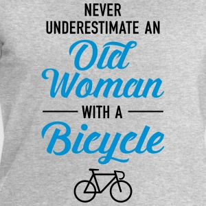 Old Woman - Bicycle T-shirts - Herresweatshirt fra Stanley og Stella
