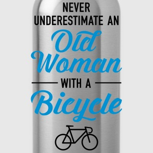 Old Woman - Bicycle T-shirts - Drinkfles