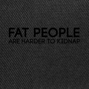 Fat_people - Snapback-caps