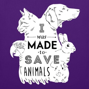 Made to save animals Tops - Tote Bag