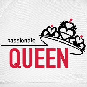 Passionate Queen T-Shirts - Baseballkappe