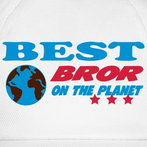 Best bror on the planet T-shirts - Baseballkasket